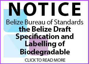 Belize Bureau Standards Notice