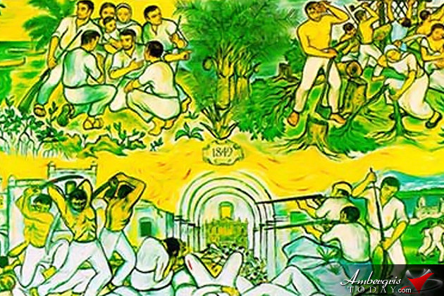 Mestizos fled from Yucatan, Mexico and landed in Belize in the year 1848