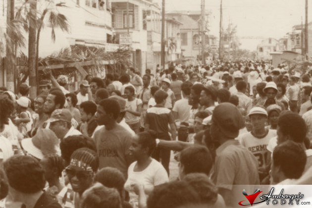 Belize gaining self-government when George Price became the first premier of Belize