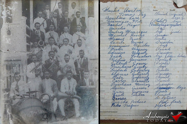 The First Families In San Pedro -The Orchestra Band and their names