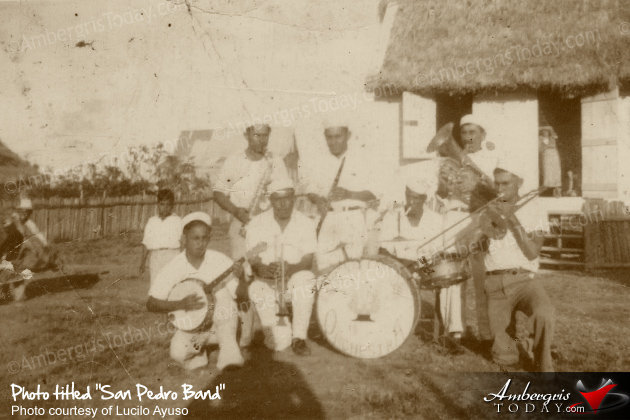 The First Families In San Pedro -San Pedro Band (Monte Carlo) with Danny Vasquez, Nestor Vasquez, Tomas Paz, Claudio Azueta, Alan Forman, Severo Guerrero, Carlos Marin