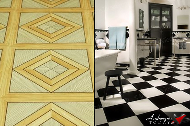 Linoleum Curtains vs Modern Tiled Floors