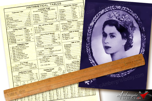 Belize Exercise Book of Queen Elizabeth
