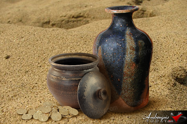 Local Sanpedrano villagers placed their gold and silver in a clay vase or jar and buried it in their yards