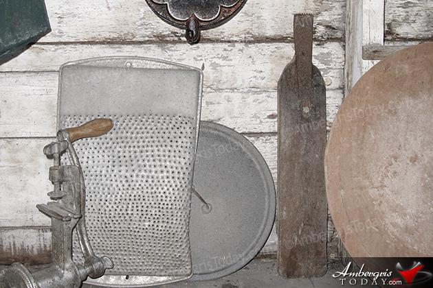 Old, vintage coconut grinder