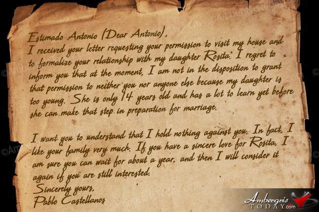 Antonio's Letter Reply