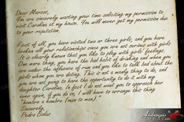 Marco's Letter Reply