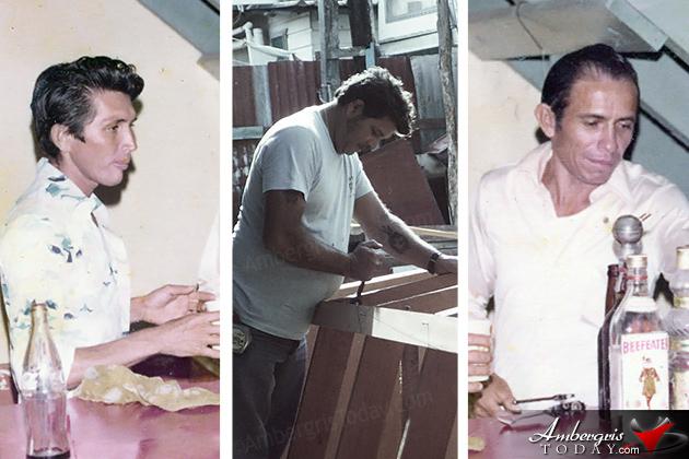 Miguel Alamilla, Gonzalo Munoz and Aldo Marin, San Pedro Boat Builders