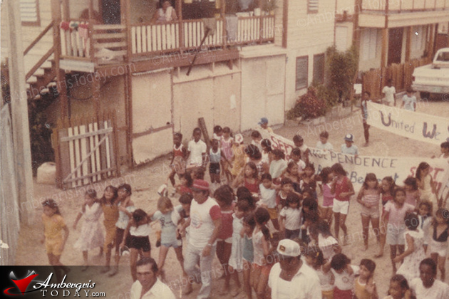 Years Ago Belize Independence Day Parade in San Pedro