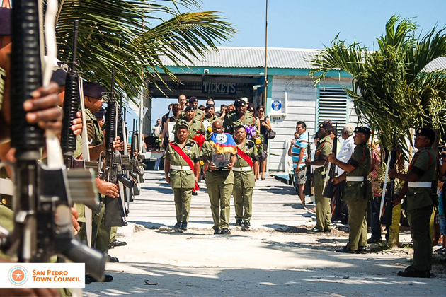 "Louis ""Cuz"" Sylvestre Funeral Services in Caye Caulker"