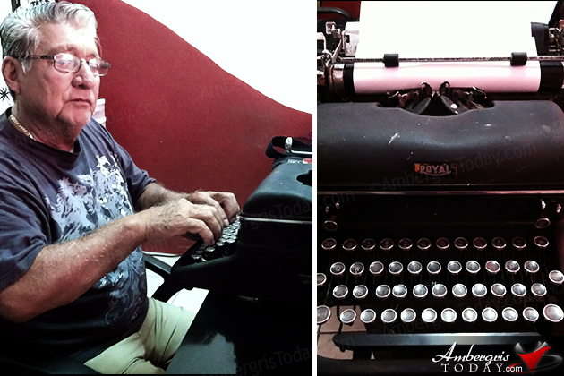 Island Benefactor Al Felly Brings Typewriting to San Pedro