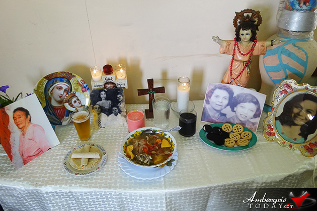 The Celebration of Dia De Los Muertos in San Pedro