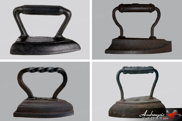 Antique Typewriters and Irons Were Once Modern Commodities