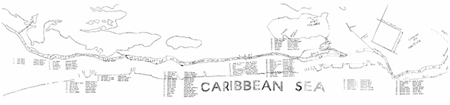 How Bacalar Chico Separates North End of Ambergris Caye from Mexico