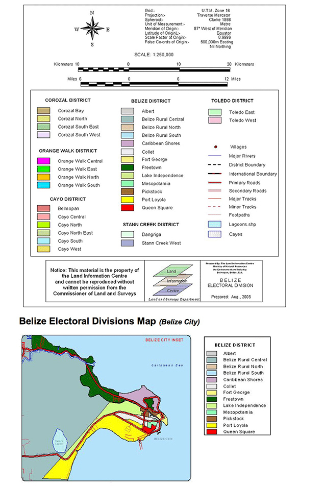 Change of Electoral Division / Transfer Period for Voting in Belize