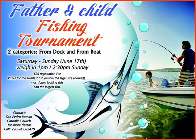 San Pedro RC Church to Hold Father Child Fishing Tournament
