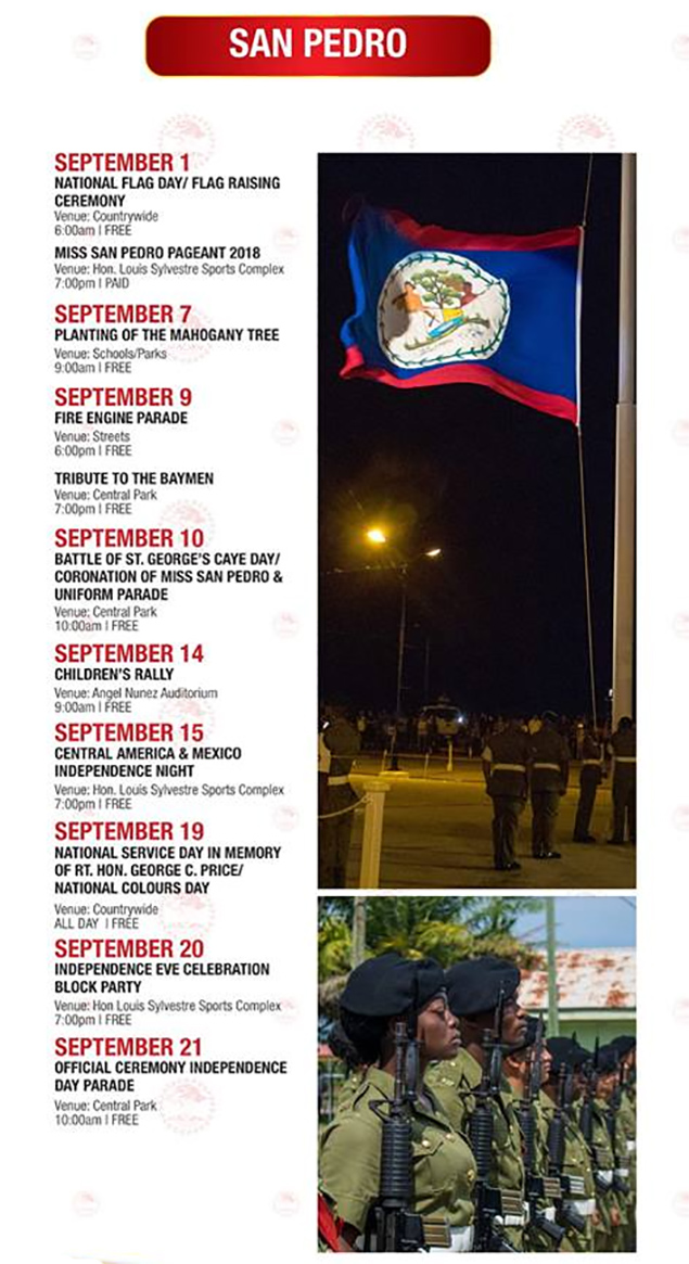 September Celebrations Calendar of Events