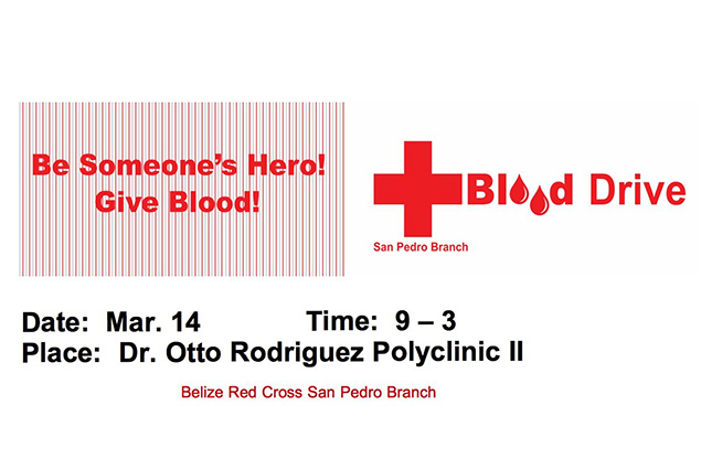 San Pedro Red Cross Blood Drive