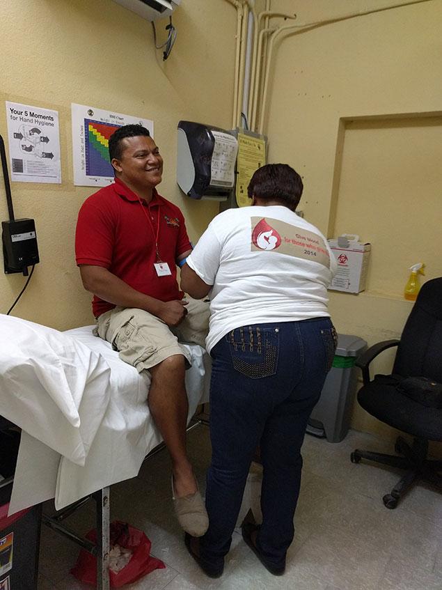 San Pedro Expands Blood Drives to Caye Caulker