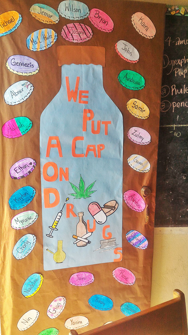 San Pedro High Celebrates 2017 Drug Awareness Week