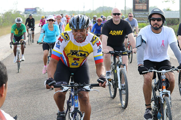 Over $70,000 Raised in Cancer Awareness Ride by CEO Caucus
