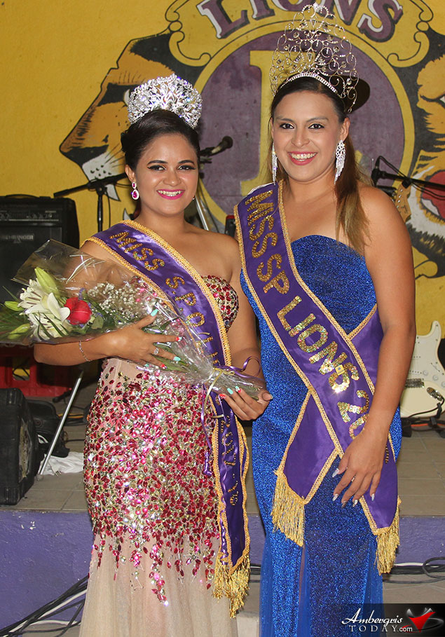 Erica Bodden Crowned Miss San Pedro Lions 2017