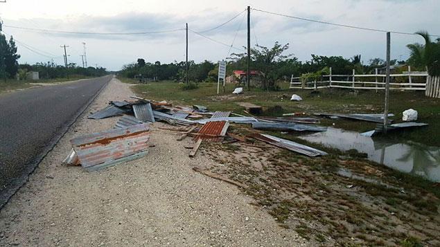 Biscayne Village Homes Destroyed in Freak Storm, Residents Get Help
