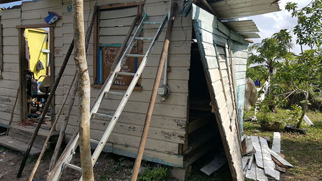 Biscayne Village Homes Destroyed in Freak Storm, Residents Get Help