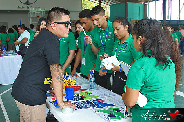 Belize Chamber of Commerce Holds Educational Fair