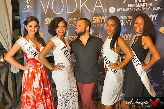 Miss Teen Belize Sashing Ceremony hosted at Finn & Martini