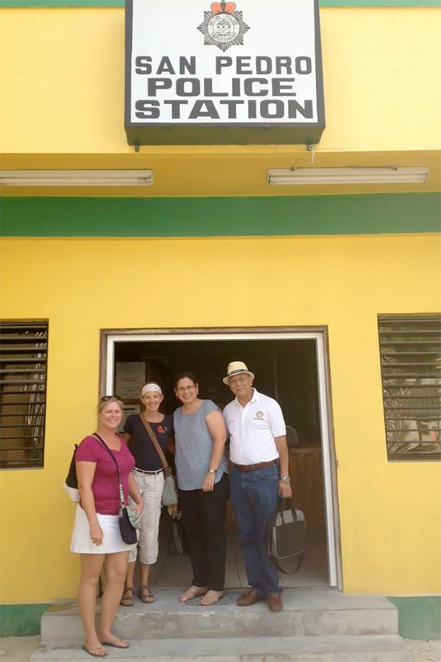 Rotary Club of Ambergris Caye Belize Celebrates 1st Year Charter Anniversary