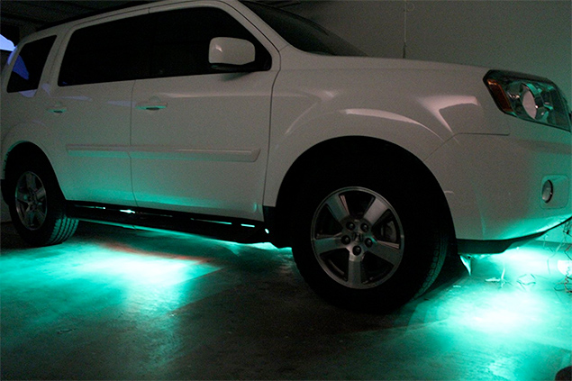 Accessory LED Lights Are Illegal on Motor Vehicles