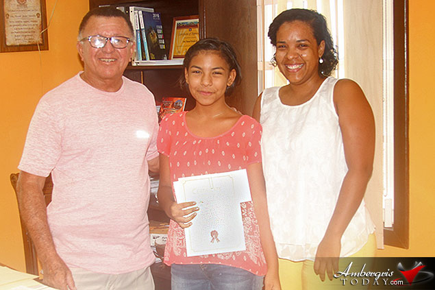 Top PSE Students of San Pedro and Caye Caulker Awarded