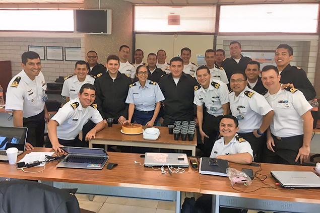 Belize Coast Guard's Almita Pinelo Makes History in Mexico