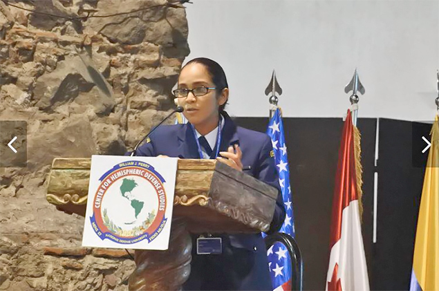 Belize Coast Guard's Almita Pinelo Makes History in Mexico