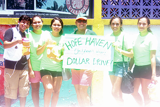 Community Reels in Funds for Island Children's Home