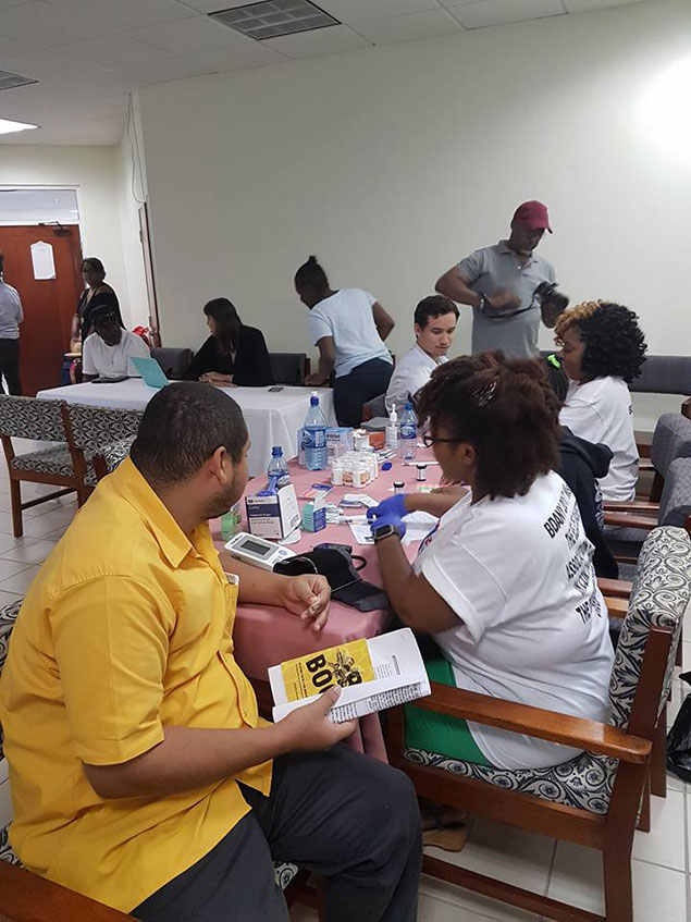 Belize Diabetes Association of New York Made Annual Foot Care Mission to Belize