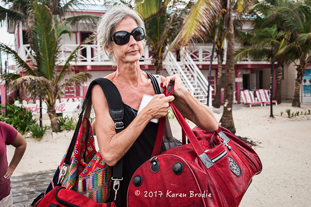 Anke Doehm Packs Up and Leaves Ambergris Caye in Four Hours