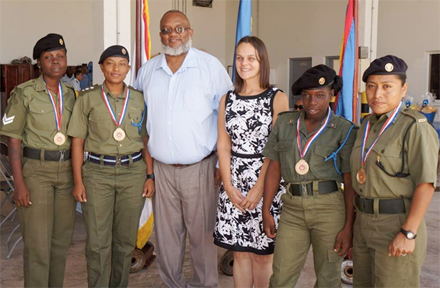 Award Ceremony for Annual Wonder Woman Challenge Belize