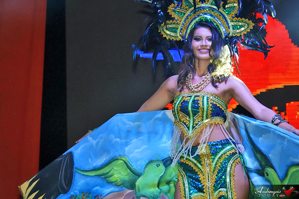 Miss Belize Michelle Nunez Captures Miss Costa Maya 2017 Crown