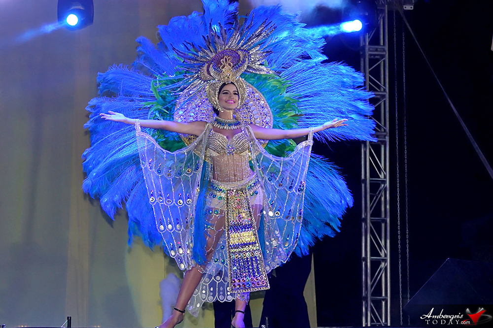 Miss Belize Michelle Nunez Captures Miss Costa Maya 2017 Crown