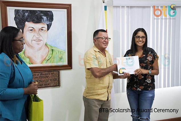 The BTB Awards Scholarships to Four Belizean Students