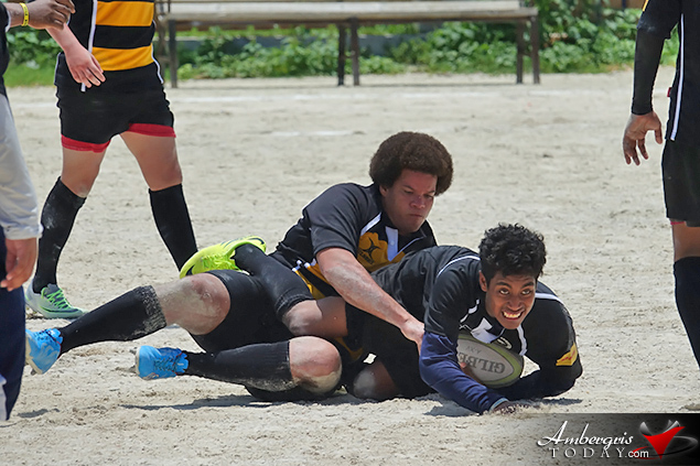 San Pedro Hosts First Inter-Division Rugby Game