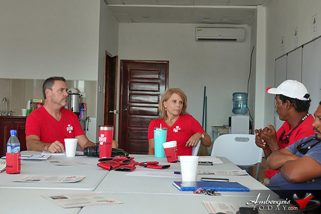 Work Commences on Implementing Volunteer Based Response System on Ambergris Caye