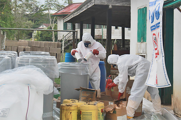 Belize Tackles Potential Radiation Sources and Disposal of Hazardous Chemicals
