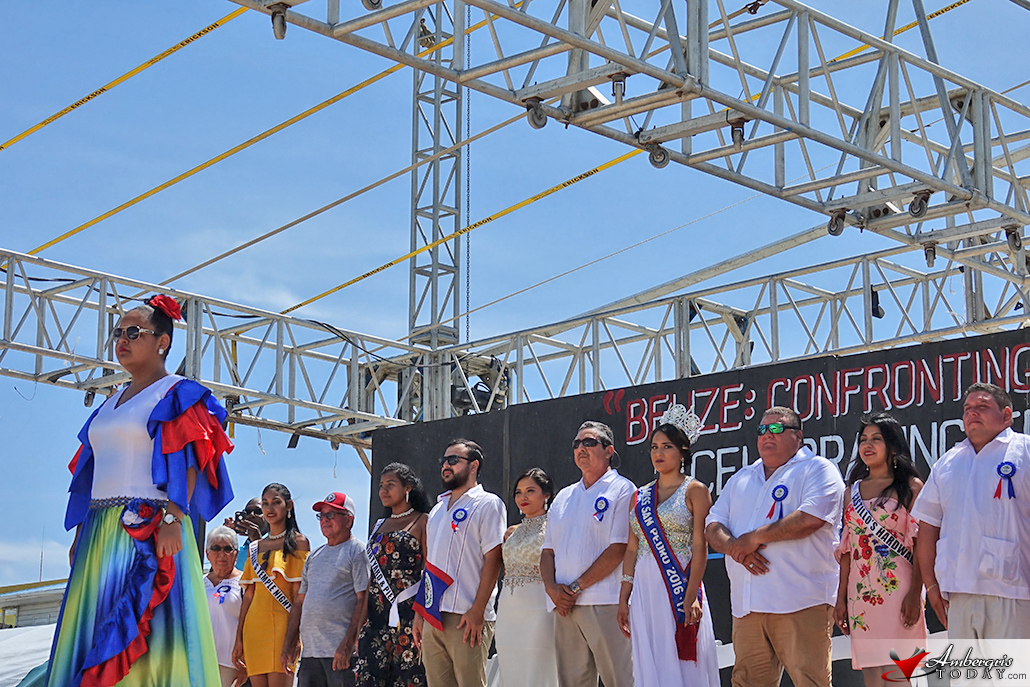 Miss San Pedro and St. George's Caye Day Celebrations