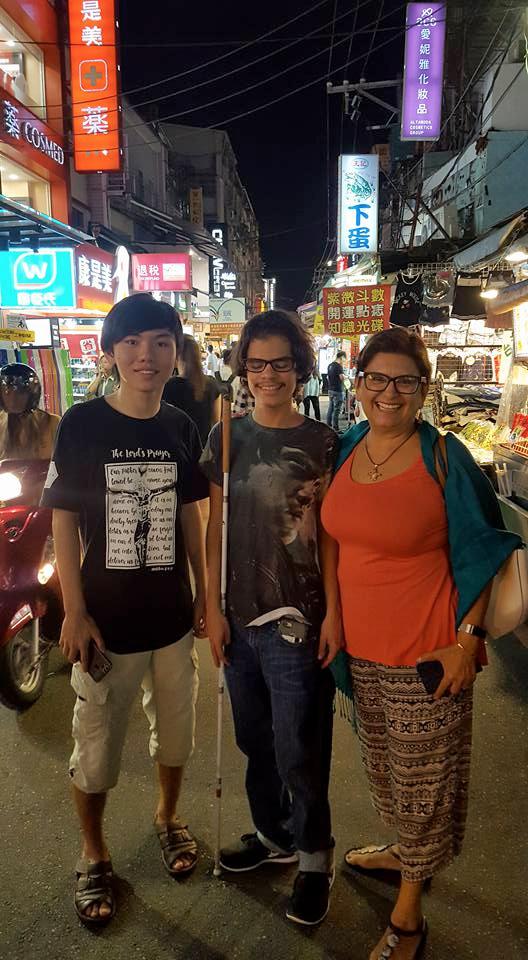 Belize's Blind Hero Rowan Garel Honored in Taipei, Taiwan