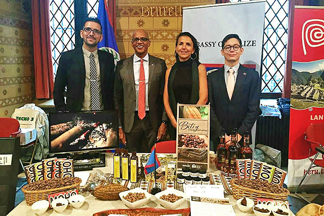 Belize Participates at Belgium's First International Day of Cacao & Chocolate