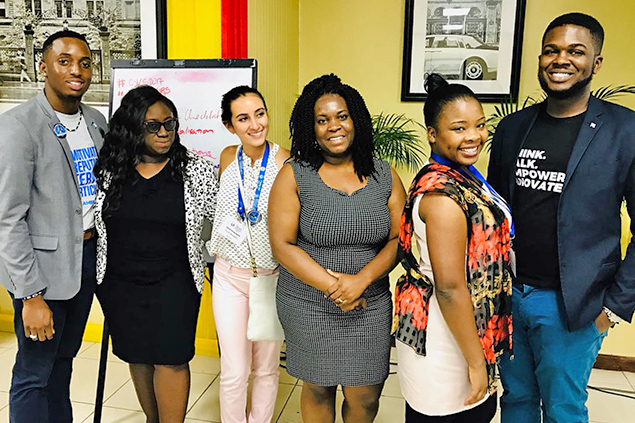 Kristin Marin Appoined in Caribbean Regional Youth Council Team