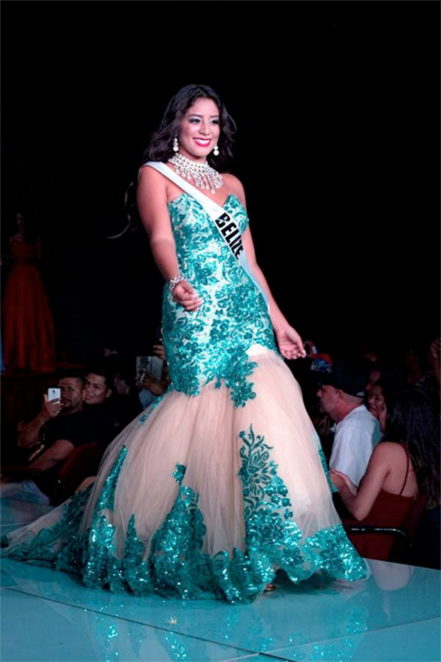 Belize Places in Top 10 at Miss America Latina del Mundo, Joannie Cantun